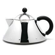 Alessi - Michael Graves Teapot with Black Handle
