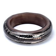 Fabienne - Resin Bangle Taupe