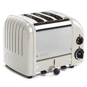 Dualit - Canvas White 3 Slice Toaster