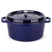 Staub - Marine Blue Round Cocotte 28cm/6.7L