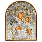 Clarte Icon - Holy Virgin Mary of Bethlehem Gold 10.5cm