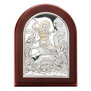 Clarte Icon - St George 5x7cm