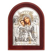 Clarte Icon - Axion Esti  Holy Virgin Mary 7cm