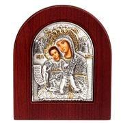 Clarte Icon - Axion Esti Holy Virgin Mary 10x8.5cm
