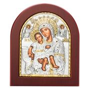 Clarte Icon - Axion Esti Holy Virgin Mary 10.5x13cm