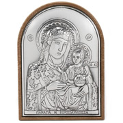 Clarte Icon - Holy Virgin Mary Of Jerusalem 6cm