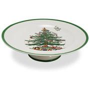 Spode - Christmas Tree Footed Cake Plate