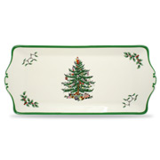 Spode - Christmas Tree Sandwich Tray