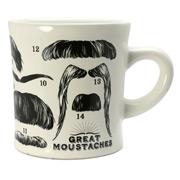 Unemployed Philosopher's Guild - Moustache Mug