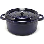 Staub - Marine Blue Round Cocotte 24cm/3.8L