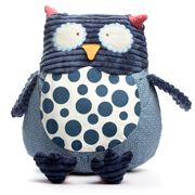 Annabel Trends - Pillow Pals Large Navy Owl