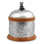 Royal Selangor - Teddy Bears' Picnic Pewter & Wood Music Box