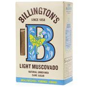 Billington's - Light Muscovado Cane Sugar 500g