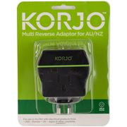 Korjo - Multi Reverse Travel Power Adaptor