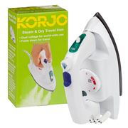 Korjo - Steam & Dry Travel Iron