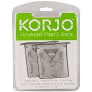 Korjo - Plastic Packing Bags Zippered