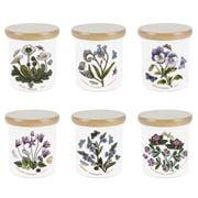Portmeirion - Botanic Garden Lidded Spice Jar Set 6pce