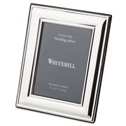Whitehill - Sterling Silver Lustre Frame 9x13cm