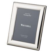 Whitehill - Sterling Silver Bead Lustre Frame 13x9cm