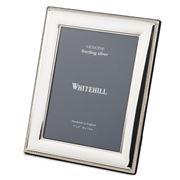 Whitehill - Sterling Silve Beaded Frame 18 x 13cm