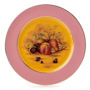Aynsley - Orchard Gold Sweet Plate Pink