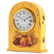 Aynsley - Orchard Gold Mantel Clock 22cm
