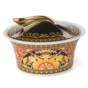 Rosenthal - Versace Medusa Red Sugar Bowl