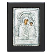 Clarte Icon - Holy Virgin Mary of Roses 9x11cm