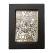 Clarte Icon - Dormition of Holy Virgin Mary in Gold 9x11.5cm