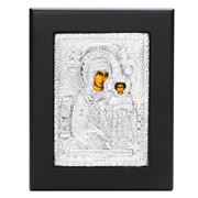 Clarte Icon - Holy Virgin Mary of Roses 11.5x14.5cm