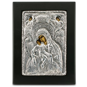 Clarte Icon - Axion Esti Holy Virgin Mary 14x19cm