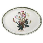 Portmeirion - Botanic Garden Christmas Rose Oval Platter