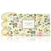 Crabtree & Evelyn - Summer Hill Soap Bar Set 3pce