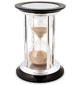 Barker Ellis - Sterling Silver Hourglass Egg Timer