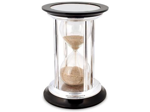 Barker Ellis - Sterling Silver Hourglass Egg Timer | Peter's of