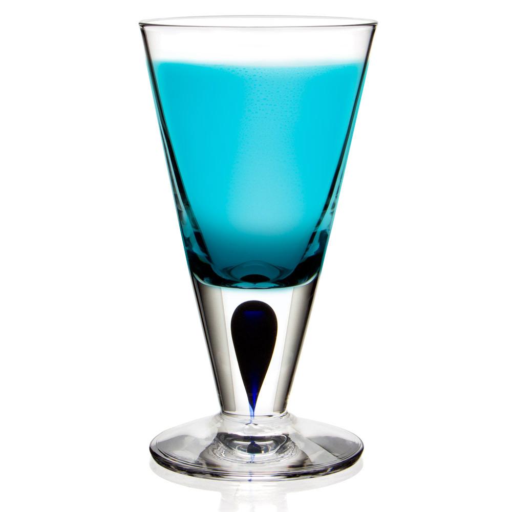 Orrefors - Intermezzo Blue Short Stem Schnapps Glass