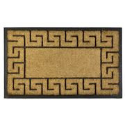 Madras - Greek Key Doormat