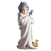 Lladro - Bundled Bather