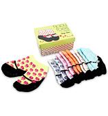 Tippy Toes - Daisy Janes Baby Sock Set 6pce