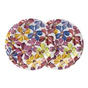 Missoni Home - Flowers Salad Plate Set 2pce