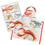 Michel Design - Lobster Apron & Tea Towel Set