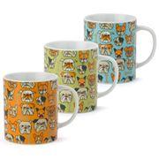 Miya - Bulldog Mug Set 3pce