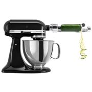 KitchenAid - Artisan KSM150 Black Mixer with Spiraliser