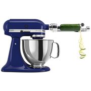 KitchenAid - Artisan KSM150 Cobalt Blue Mixer w/Spiraliser