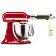 KitchenAid - Artisan KSM150 Empire Red Mixer w/ Spiraliser