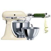 KitchenAid - Artisan KSM160 Almond Stand Mixer w/ Spiraliser