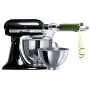 KitchenAid - Artisan KSM160 Onyx Stand Mixer w/ Spiraliser