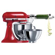 KitchenAid - Artisan KSM160 Empire Red Mixer w/ Spiraliser