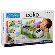 Clementoni - Coko Programmable Crocodile Robot