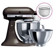 KitchenAid - KSM160 Truffle Mixer w/ Ice Cream Bowl